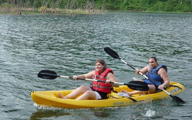 Kayaking in Arenal Lake